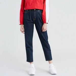 NWT Levi's Pleated Mom Jean size 26